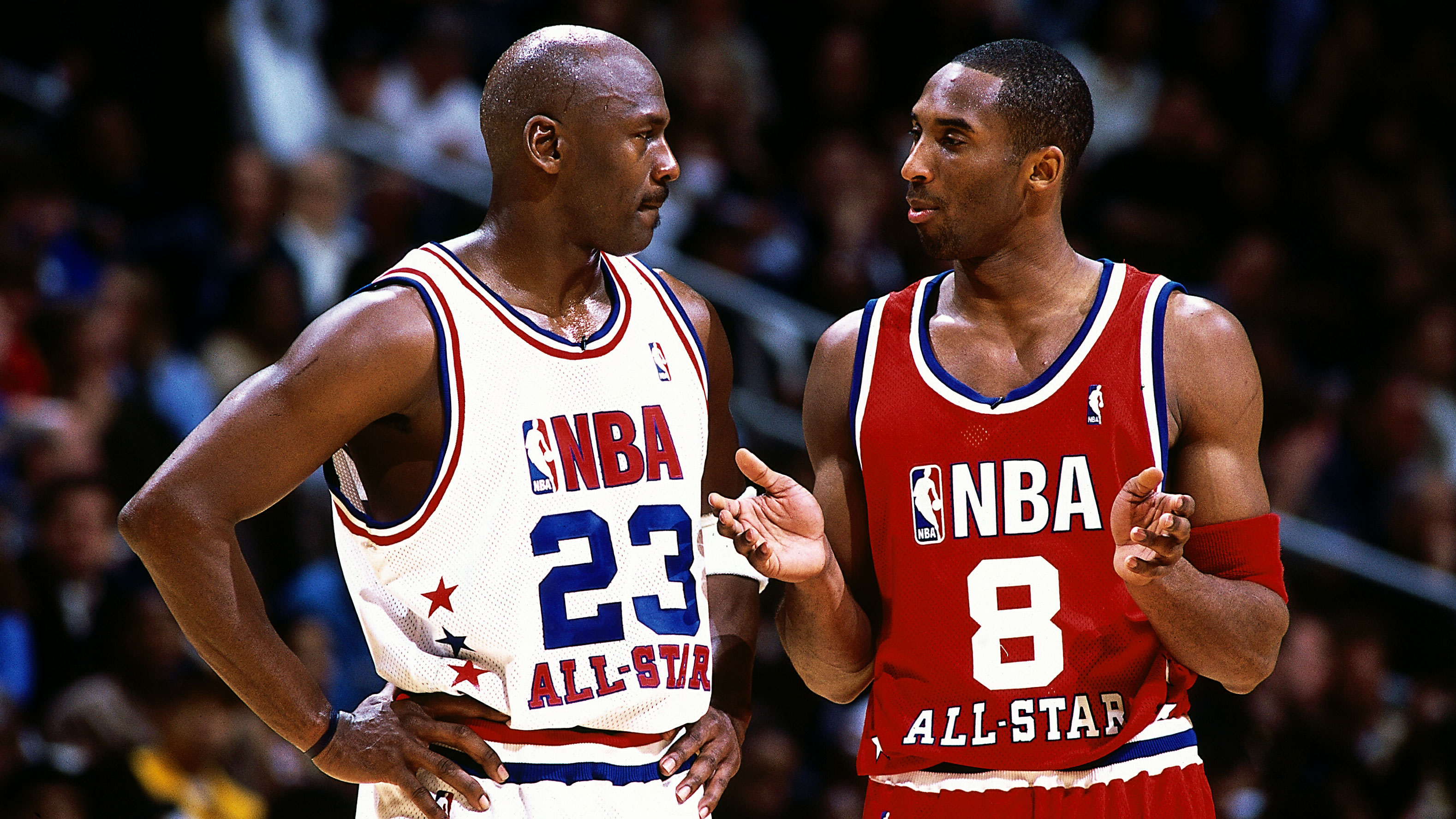zkxoma Kobe Bryant, Michael Jordan dueled in 2003 All Star Game | SI.com